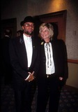 Bee Gees Photo - 11994 New York Maurice Gibb of the Bee Gees with His Wife Photo by Mitchell LevyrangefinderGlobe Photos Inc L8511ml Mauricegibbretro