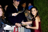 Shelbie Bruce Photo - LOS ANGELES CA December 9 2004 (SSI) - -Actress Shelbie Bruce who plays in the film signs autographs for fans during the premiere of the new movie from Columbia Pictures SPANGLISH on December 9 2004 in Los Angeles  PHOTO SUPERSTARIMAGESCOM  GLOBE PHOTOS INC  2004K40866MG