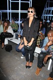 Alexander Wang Photo - Alexander Wang Spring 2014 Fashion Show Front Row Celebrities Pier 94 NYC September 7 2013 Photos by Sonia Moskowitz Globe Photos Inc 2013 Zoe Kravitz