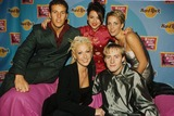Faye Tozer Photo - Steps Group at Backstage in Hard Rock Cafe  Mtv Europe Music Awards 1998 in Italy Milan Members Claire Richards Faye Tozer Lisa Scott-lee Ian H Watkins and Lee Latchford-evans Photo by Alpha-Globe Photos Inc