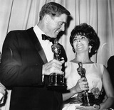 Burt Lancaster Photo - Burt Lancaster and Elizabeth Taylor 33rd Academy Awards (Oscars) Supplied ByGlobe Photos Inc