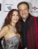 Anoush Sadegh Photo - Rima Sapien and Anoush Sadegh arrive at Eugene Sidneys Pre-New Years Eve Soiree