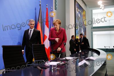 Photo - Swiss President visits German Chancellor