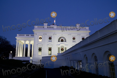 Photos From The White House at dusk