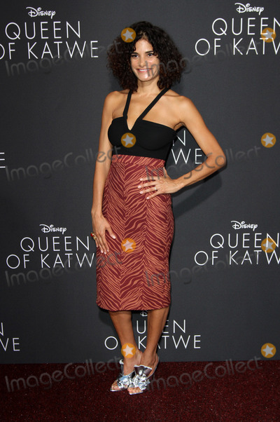 Ashley Dyke Photo - 20 September 2016 - Hollywood California - Ashley Dyke Queen Of Katwe Los Angeles Premiere held at the El Capitan Theater in Hollywood Photo Credit AdMedia