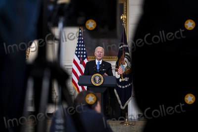 Photos From Biden Announces Partnership between Johnson and Johnson and Merck to Produce Covid Vaccine