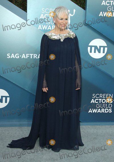 Photo - 19 January 2020 - Los Angeles California - Glenn Close 26th Annual Screen Actors Guild Awards held at The Shrine Auditorium Photo Credit AdMedia
