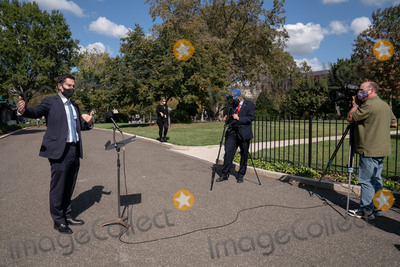 Photo - Deputy Press Secretary Brian Morgenstern Speaks to the Press