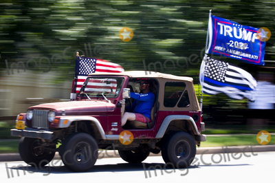 Photos From Trump Protestors in Sterling, Virginia