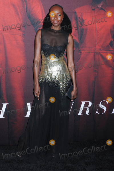 Photo - 19 March 2019 - New York New York - Anna Diop at Universal Pictures US Premiere at the Museum of Modern Art in Midtown Photo Credit LJ FotosAdMedia