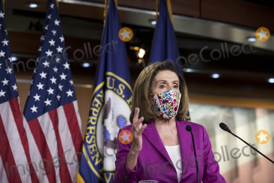 Photo - Speaker of the United States House of Representatives Nancy Pelosi (Democrat of California) holds a press conference at the US Capitol