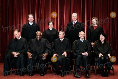 Supremes Photo - Members of the Supreme Court pose for a group photo at the Supreme Court in Washington DC on April 23 2021 Seated from left Associate Justice of the Supreme Court Samuel A Alito Jr Associate Justice of the Supreme Court Clarence Thomas Chief Justice of the United States John G Roberts Jr Associate Justice of the Supreme Court Stephen G Breyer and Associate Justice of the Supreme Court Sonia Sotomayor Standing from left Associate Justice of the Supreme Court Brett Kavanaugh Associate Justice of the Supreme Court Elena Kagan Associate Justice of the Supreme Court Neil M Gorsuch and Associate Justice of the Supreme Court Amy Coney Barrett Credit Erin Schaff  Pool via CNPAdMedia
