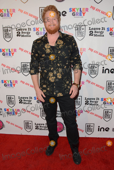 Bill Parks Photo - 11 February  - Hollywood Ca - Bill Parks Arrivals for the Pop Societys Flashy Solo Art Exhibition by 16 year old Skyler Grey held at 6363 Hollywood Blvd Photo Credit Birdie ThompsonAdMedia