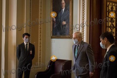 Photo - Senators Vote at the US Capitol