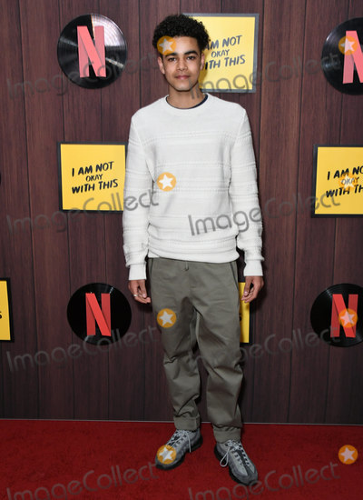 Amir Wilson Photo - 25 February 2020 - West Hollywood California - Amir Wilson Netflixs Im Not Okay With That Los Angeles Premiere held at The London West Hollywood Photo Credit Birdie ThompsonAdMedia