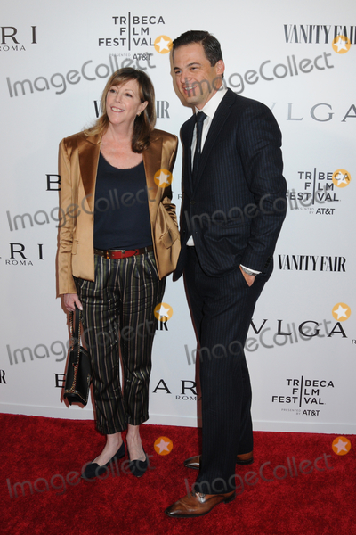 Photo - 23 April 2019 - New York New York - Jane Rosenthal and Daniel Paltridge at BVLGARIs World Premiere of Celestial and The Fourth Wave with Vanity Fair for the 18th Annual Tribeca Film Festival at Spring Studios Photo Credit LJ FotosAdMedia