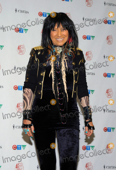 Buffie Photo - 27 March 2011 - Toronto Ontario Canada - Buffy Sainte-Marie  Singer Buffy Sainte-Marie poses backstage in the press room during the 40th Annual Juno Awards at the Air Canada Centre Photo Brent PerniacAdMedia