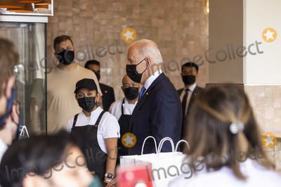 Photos From Biden visits restaurant in Washington, DC