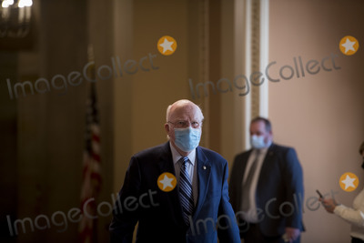 Photos From United States Senator Patrick Leahy (Democrat of Vermont) arrives at the U.S. Capitol