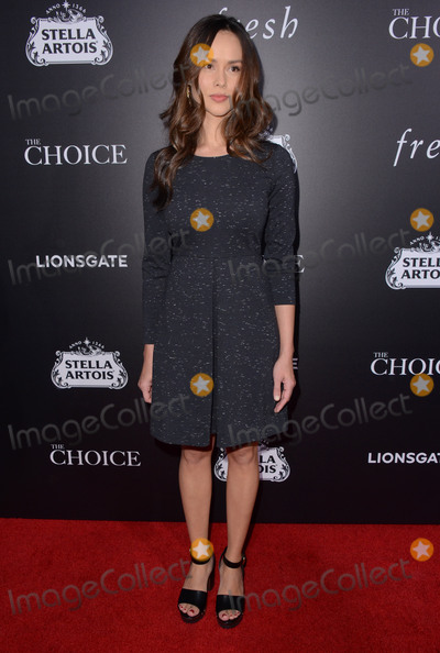 Anna Enger Photo - 01 February  - Hollywood Ca - Anna Enger Arrivals for the Los Angeles special screening of The Choice held at Arclight Hollywood Photo Credit Birdie ThompsonAdMedia
