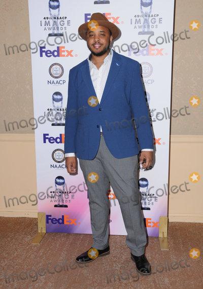 Photo - 16 December  2017 - Beverly Hills California - Justin Simien  The 49th NNACP Image Awards Nominees Luncheon held at The Beverly Hilton Hotel in Beverly Hills Photo Credit Birdie ThompsonAdMedia