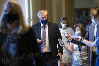 Photo - Mark Meadows Continues Negotiations on Capitol Hill