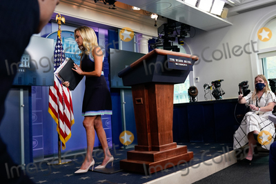 Photos From Kayleigh McEnany Arrives to a News Conference