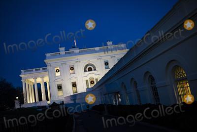 Photo - White House at Dusk
