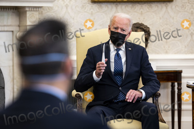 Photo - Biden Remarks During a Meeting with a Bipartisan Group of Members of Congress