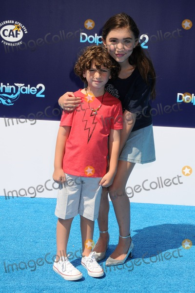 August Maturo Photo - 7 September 2014 - Westwood California - August Maturo Rowan Blanchard Dolphin Tale 2 Los Angeles Premiere held at the Regency Village Theatre Photo Credit Byron PurvisAdMedia
