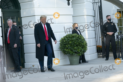 Photo - President Donald Trump Departs the White House