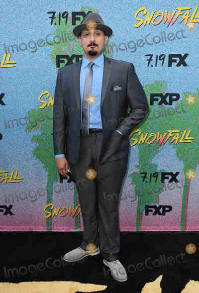 Adam Mendoza Photo - 16 July 2018 - Los Angeles California - Adam Mendoza FXs Snowfall Season 2 Premiere held at the Regal Cinemas at LA LIVE Photo Credit Birdie ThompsonAdMedia