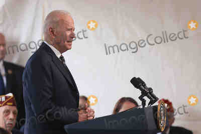 Photo - Biden Delivers Remarks at an Annual Memorial Day Service
