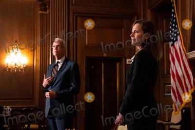 Photo - Amy Coney Barrett Capitol Hill Courtesy Call Jerry Moran