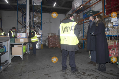 Photos From Kate and William Visit FareShare Food Bank at Old Smithfield Market in Manchester