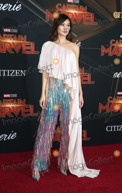 Gemma Chan Photo - 4 March 2019 - Hollywood California - Gemma Chan Marvel Studios Captain Marvel Premiere held at El Capitan Theatre Photo Credit Faye SadouAdMedia
