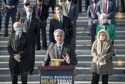 Photo - United States House Minority Leader Kevin McCarthy (Republican of California) holds a press conference on the need to extend the Paycheck Protection Program and provide relief for small businesses