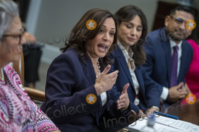 Photos From US Vice President Kamala Harris meets with Democratic Texas state lawmakers