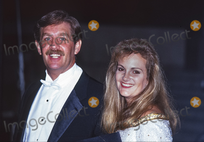 Princess of Wales Photo - Patty Hearst and Bernard L Shaw attend the Royal Gala Evening to Benefit the London City Ballet with Diana Princess of Wales at the Department of Commerce in Washington DC USA on October 4 1990Credit Ron Sachs  CNPAdMedia