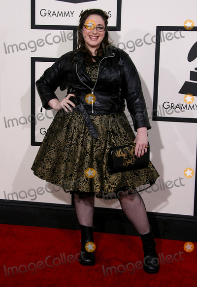 Annie Stoll Photo - 26 January 2014 - Los Angeles California - Annie Stoll 56th GRAMMY Awards held at the Staples Center Photo Credit AdMedia