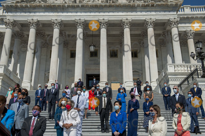 Photos From Press Conference Prior to the Vote on the George Floyd Justice in Policing Act of 2020