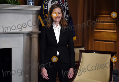 Photo - Amy Coney Barrett Capitol Hill Courtesy Call Roger Wicker