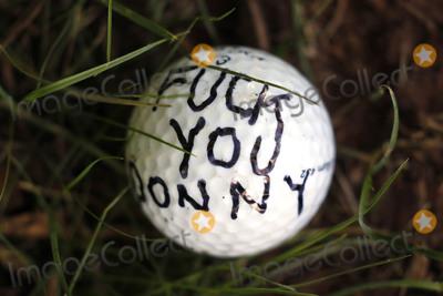 Photos From Protestors Outside Trump National Golf Club Washington DC