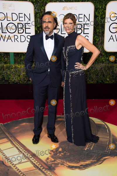 Alejandro Inarritu Photo - Alejandro Inarritu Golden Globe Nominee in the category of BEST MOTION PICTURE - MUSICAL OR COMEDY for the movie The Revenant and guest arrives at the 73rd Annual Golden Globe Awards at the Beverly Hilton in Beverly Hills CA on Sunday January 10 2016 Photo Credit HFPAAdMedia