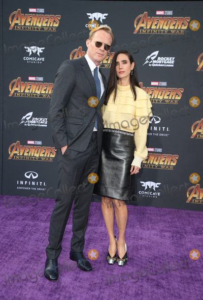 Photo - 23 April 2018 - Hollywood California - Paul Bettany and Jennifer Connelly Disney and Marvels Avengers Infinity War Los Angeles Premiere held at Dolby Theater Photo Credit F SadouAdMedia