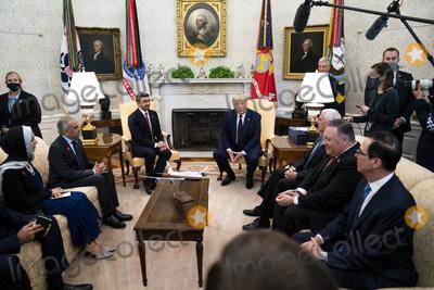 Photo - President Trump Meets with Abdullah bin Zayed bin Sultan Al Nahyan