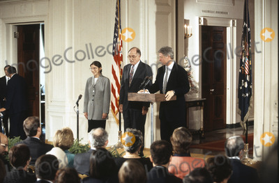 Photos From Ruth Bader Ginsburg is Sworn-in as Associate Justice of the United States Supreme Court