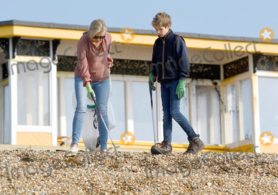 Photo - Edward Sophie Louise and James Wessex Great British Beach Clean in Southsea