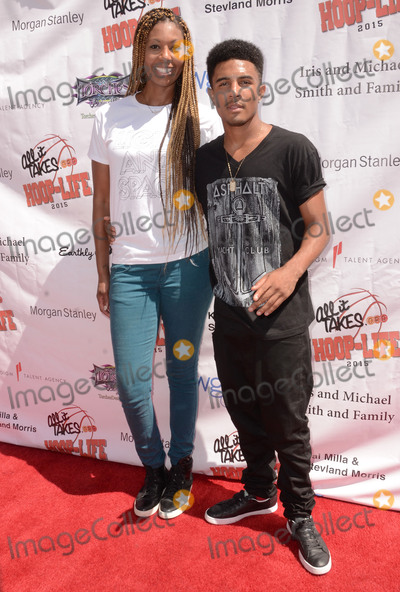 Anthony Lewis Photo - 30 August 2015 - Los Angeles California - Chantelle Anderson Anthony Lewis 3rd Annual Kailand Obasi Hoop-Life Friendraiser held at The Galen Center at USC Photo Credit Birdie ThompsonAdMedia