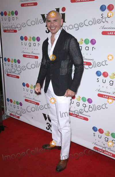 Photo - Pitbull at Sugar Factory at Fashion Show Las Vegas